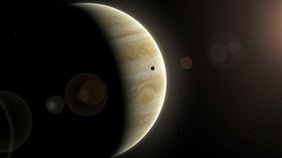 Douze nouvelles lunes ont été découvertes autour de Jupiter, portant à 79 son nombre total de satellites connus. (MGA / AFP)