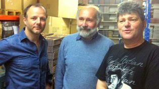 PEF et les auteurs de la BD, Pica et Erroc  (Bamboo Edition)