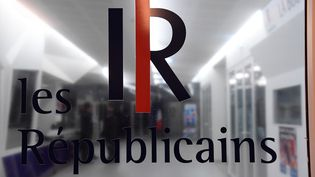 L'entrée du siège des Républicains à Paris, dans le 15e arrondissement, le 29 novembre 2016. (BERTRAND GUAY / AFP)