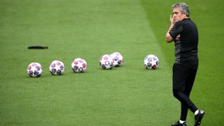 L'entraîneur adjoint de Manchester City, Juanma Lillo, fait figure de pièce maitresse dans le dispositif de Pep Guardiola, depuis son arrivée enjuin 2020. (NICK POTTS / MAXPPP)