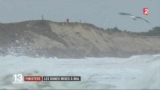 Finistère : les dunes mises à mal