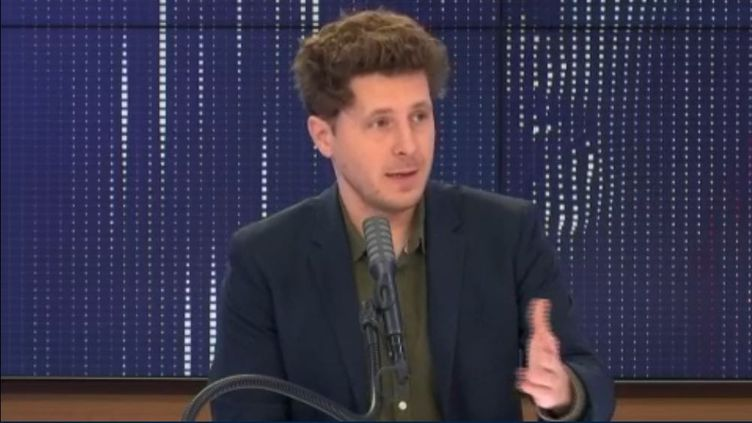 Julien Bayou, secrétaire national d'EELV. (FRANCEINFO / RADIOFRANCE)