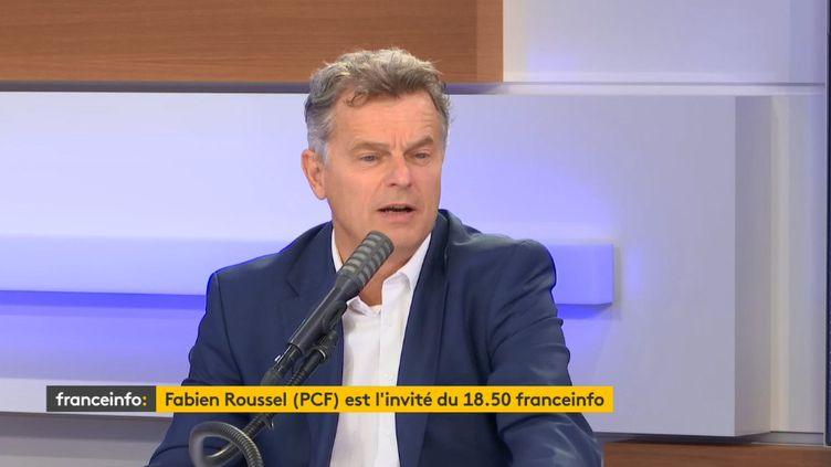 Fabien Roussel, secrétaire national du PCF, invité du 18h50 franceinfo, le mardi 30 juin 2020. (RADIO FRANCE)