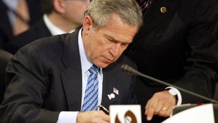 L'ancien président américain George Bush (AFP)