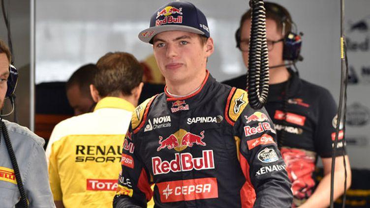 Le pilote néerlandais Max Verstappen