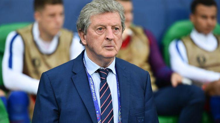 Roy Hodgson, sélectionneur de l'Angleterre.  (UWE ANSPACH / DPA)
