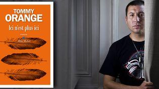 Le romancier américain Tommy Orange, juin 2019 (Jean-Luc Bertini)