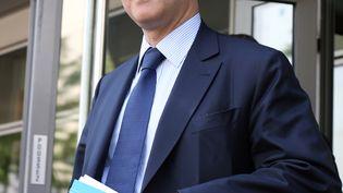 Pierre Moscovici, le ministre de l'Economie, le 6 juin 2013 à Pantin (Seine-Saint-Denis). (THOMAS SAMSON / AFP)