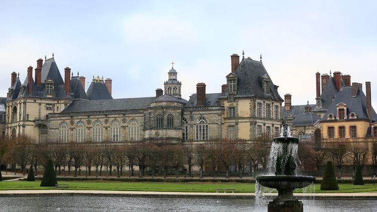 Le château de Fontainebleau en Seine-et-Marne, le 1er décembre 2013. Illustration. (VINCENT ISORE / MAXPPP)