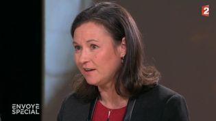 """Le médecin Anne-Lise Ducanda, le 19 janvier 2018, sur le plateau de l'émission """"Envoyé spécial"""" de France 2. (FRANCE 2 / FRANCEINFO)"""