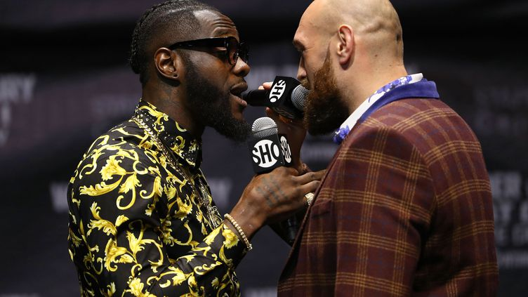 Deontay Wilder et Tyson Fury (VICTOR DECOLONGON / GETTY IMAGES NORTH AMERICA)
