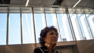 L'ancienne ministre de la Santé Roselyne Bachelot à Rennes (Ille-et-Vilaine) lors du festival international du film politique le 1er novembre 2018. (MARTIN BERTRAND / HANS LUCAS / AFP)