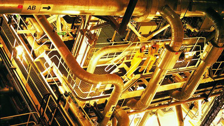 L'intérieur d'une centrale nucléaire, le 14 septembre 2005 (DIGITAL VISION. / DIGITAL VISION / GETTY IMAGES)