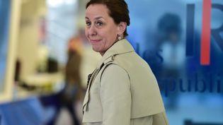 La sénatrice LR Fabienne Keller, en mai 2017, à Paris. (CHRISTOPHE ARCHAMBAULT / AFP)
