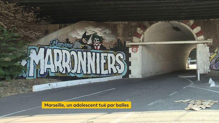La cité des Marronniers à Marseille (FRANCEINFO)