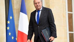 Jean-Michel Baylet arrive à l'Elysée (Paris), le 27 juillet 2016. (BERTRAND GUAY / AFP)