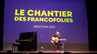 La sélection 2021 du Chantier des Francofolies vient d'être dévoilée à Paris. (Yann Bertrand / Radio France)