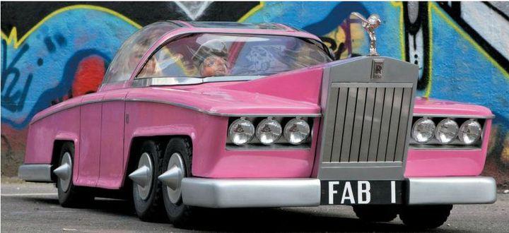 """La FAB 1 de Lady Penelope dans """"Les Sentinelles de l'Air"""", datant de 1989. Estimation : entre 8 000 et 10 000 euros. (HÔTEL DROUOT)"""