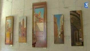 Jean-Marc Idir peint la maison Bonaparte  (Culturebox)