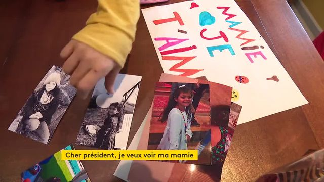 Chloë, 10 ans, a écrit au Président pour voir sa mamie qui vit en Ehpad