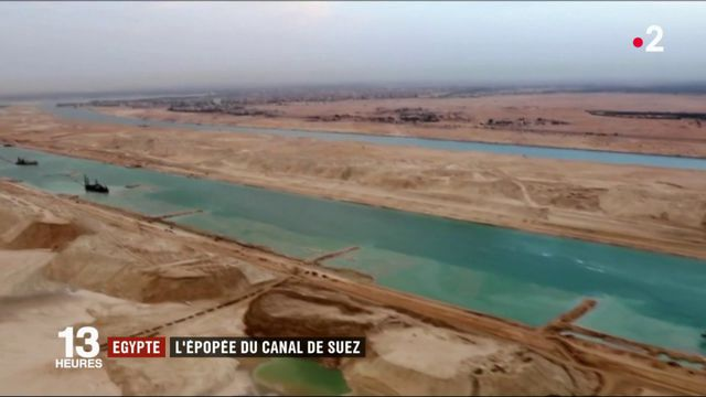 Égypte : l'épopée du canal de Suez