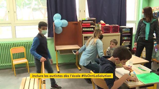A Perpignan, une école primaire intégre des enfants autistes dans son établissement