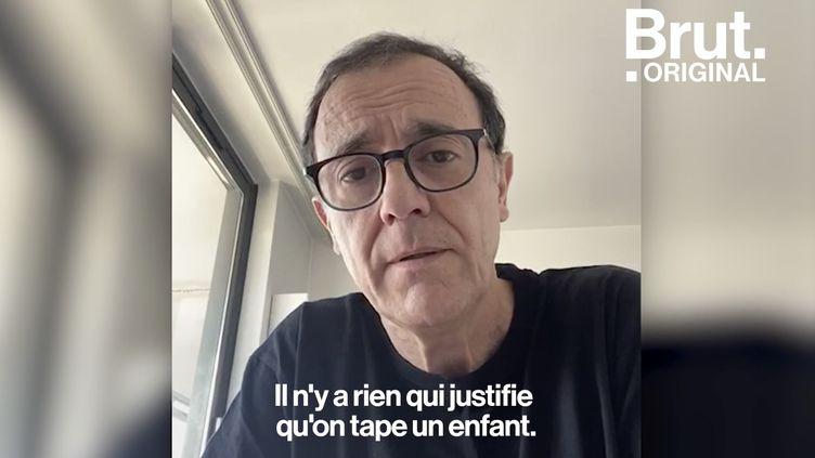 VIDEO. L'appel à l'aide de Thierry Beccaro pour les enfants victimes de violences (BRUT)