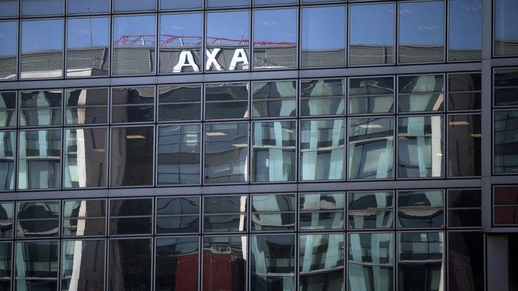 Vue du siège de Axa, à Nanterre, en octobre 2018. (JOEL SAGET / AFP)