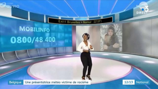 Belgique : une présentatrice météo victime de racisme