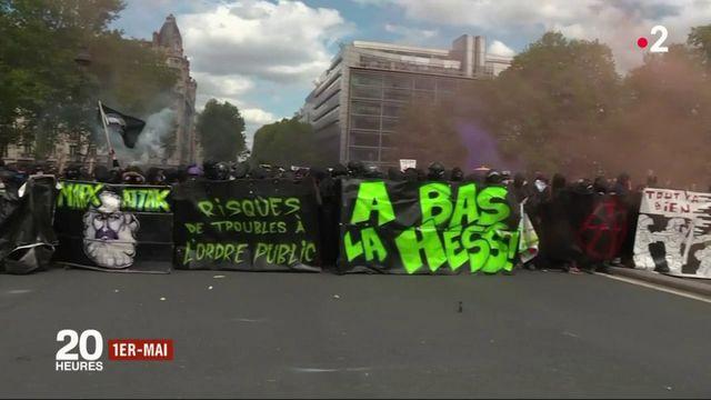 1er-Mai : plus de 200 interpellations dans une ambiance de guérilla urbaine à Paris