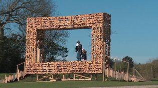 Seine-Maritime : exposition à ciel ouvert grâce au Land art (France 3)