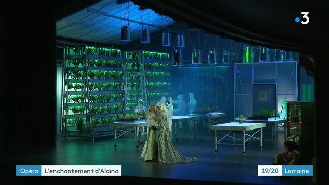 Alcina à l'opéra de Lorraine