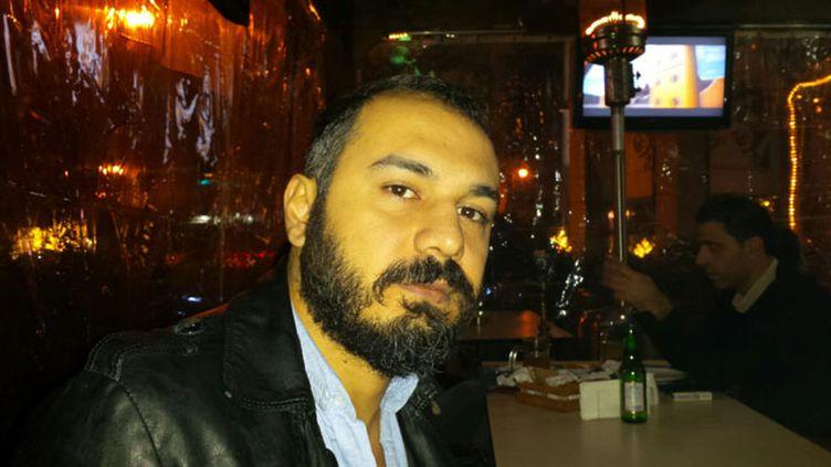 (Maher Esber opposant au régime de Damas © RF-Omar Ouahmane)