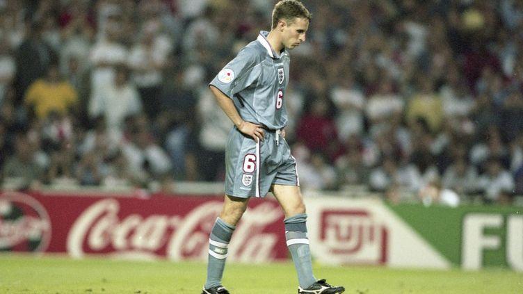 Gareth Southgate avait manqué son penalty décisif en demi-finale de l'Euro 1996 face à l'Allemagne. (FIRO SPORTPHOTO / AUGENKLICK/FIRO SPORTPHOTO)
