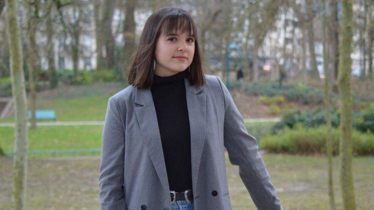 """Sorenza Lafargue, bachelière 2020 n'a obtenu aucun de ses 10 voeux favoris sur Parcoursup alors même qu'elle s'apprête à avoir mention """"Très Bien"""" au baccalauréat. (DR)"""