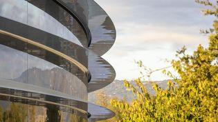 L'Apple Park. Un batiment rond, écologiste qui accueillera 12 000 salariés. (APPLE)