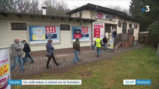 Moselle : un tabac à la frontière franco-allemande attire les clients, sans test PCR