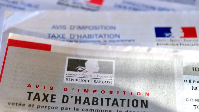 Avis d'imposition de taxe d'habitation. Image d'illustration. (PHILIPPE HUGUEN / AFP)