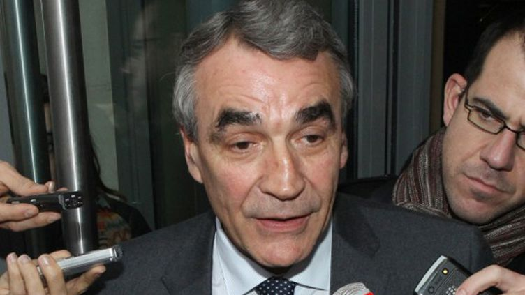 Le président de Castres Pierre-Yves Revol (JACQUES DEMARTHON / AFP)