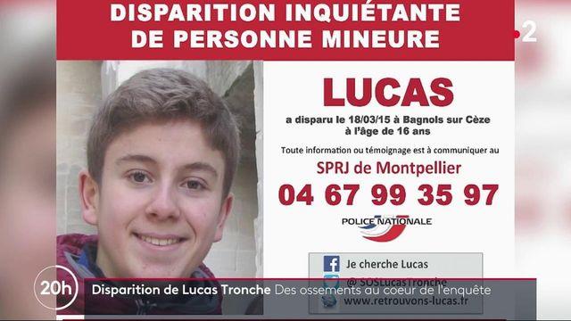 Disparition de Lucas Tronche : des ossements et des vêtements retrouvés à Bagnols-sur-Cèze