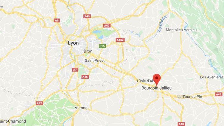 Illustration de Bourgoin Jallieu (GOOGLE MAPS / FRANCEINFO)