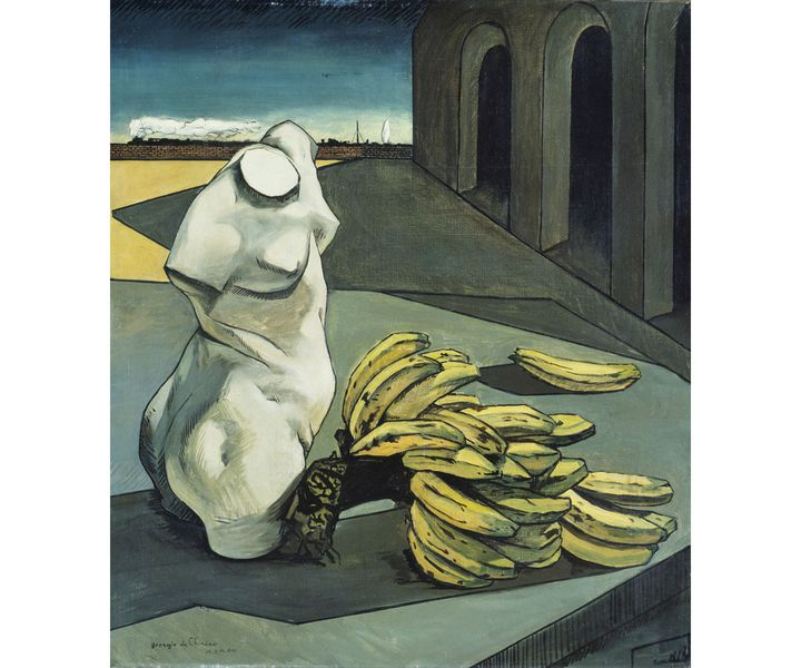 "Giorgio de Chirico, ""L'incertitude du poète"", 1913, Tate, Londres (Photo © Tate, Dist. RMN-Grand Palais / Tate Photography © ADAGP, Paris, 2020 08)"