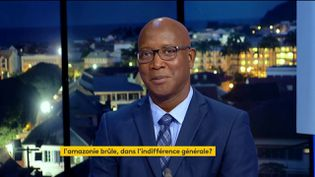 Gabriel Serville, député GDR de Guyane (FRANCEINFO)
