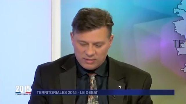 La tête de liste du Front national aux élections territoriales en Corse a participé au débat télévisé organisé par France 3 Corse, mercredi 2 décembre, à quelques jours du premier tour du scrutin. Face à ses rivaux et aux questions posées par les journalistes, Christophe Canioni a été pris de court sur plusieurs sujets cruciaux de l'économie locale.