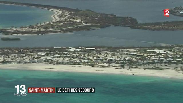 Saint-Martin : l'organisation des secours après Irma
