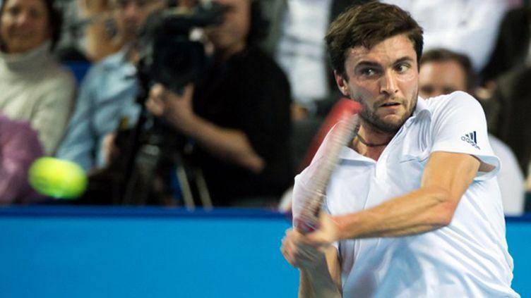 Le Français Gilles Simon (BERTRAND LANGLOIS / AFP)