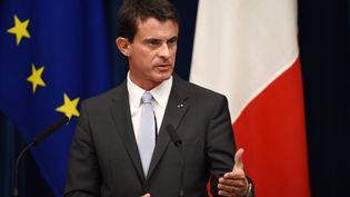 Le Premier ministre, Manuel Valls, le 5 octobre 2015 à Tokyo (Japon). (TOSHIFUMI KITAMURA / AFP)