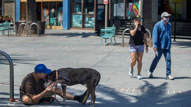 Le coronavirus creuse les inégalités aux États-Unis. (MEL MELCON / LOS ANGELES TIMES)