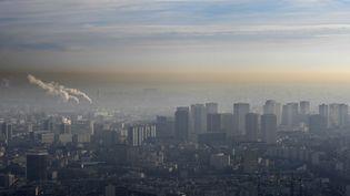 Paris a connu un pic de pollution particulièrement long (BERTRAND GUAY / AFP)