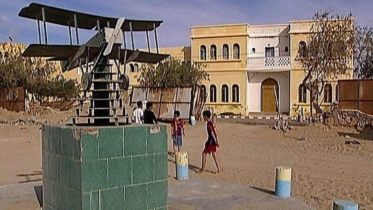 Monument à la mémoire de Saint Exupéry à Tarfaya, au Maroc  (France3/Culturebox)